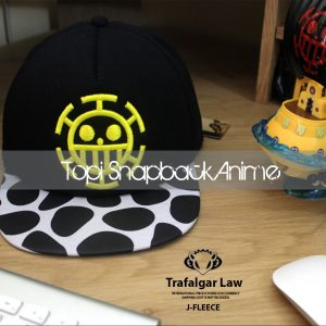 TOPI SNAPBACK ANIME J-FLEECE